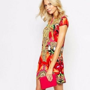 Ted Baker Aalia Paisley Toucan Printed Tunic Dress
